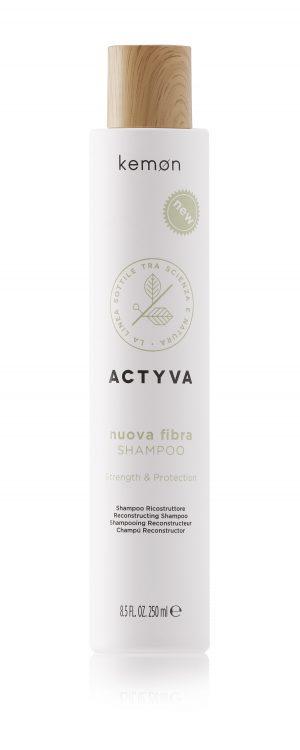 Kemon Actyva nuova fibra shampoo strength protection reconstructing 250 ml