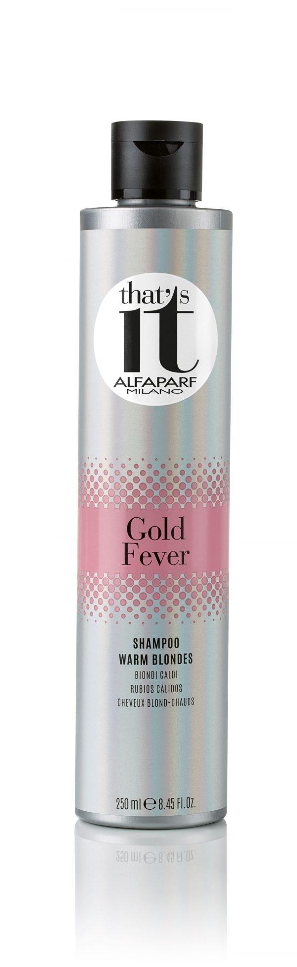 Thats It Alfaparf Milano Gold Fever Shampoo 250ml